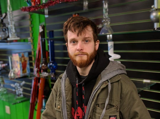 """Hookah Connection manager Joey Linder, who helped bring the new marijuana ordinance to voters, said Fremont police are seizing illegal pot but not ticketing offenders. """"It's still against the law,"""" Linder said."""