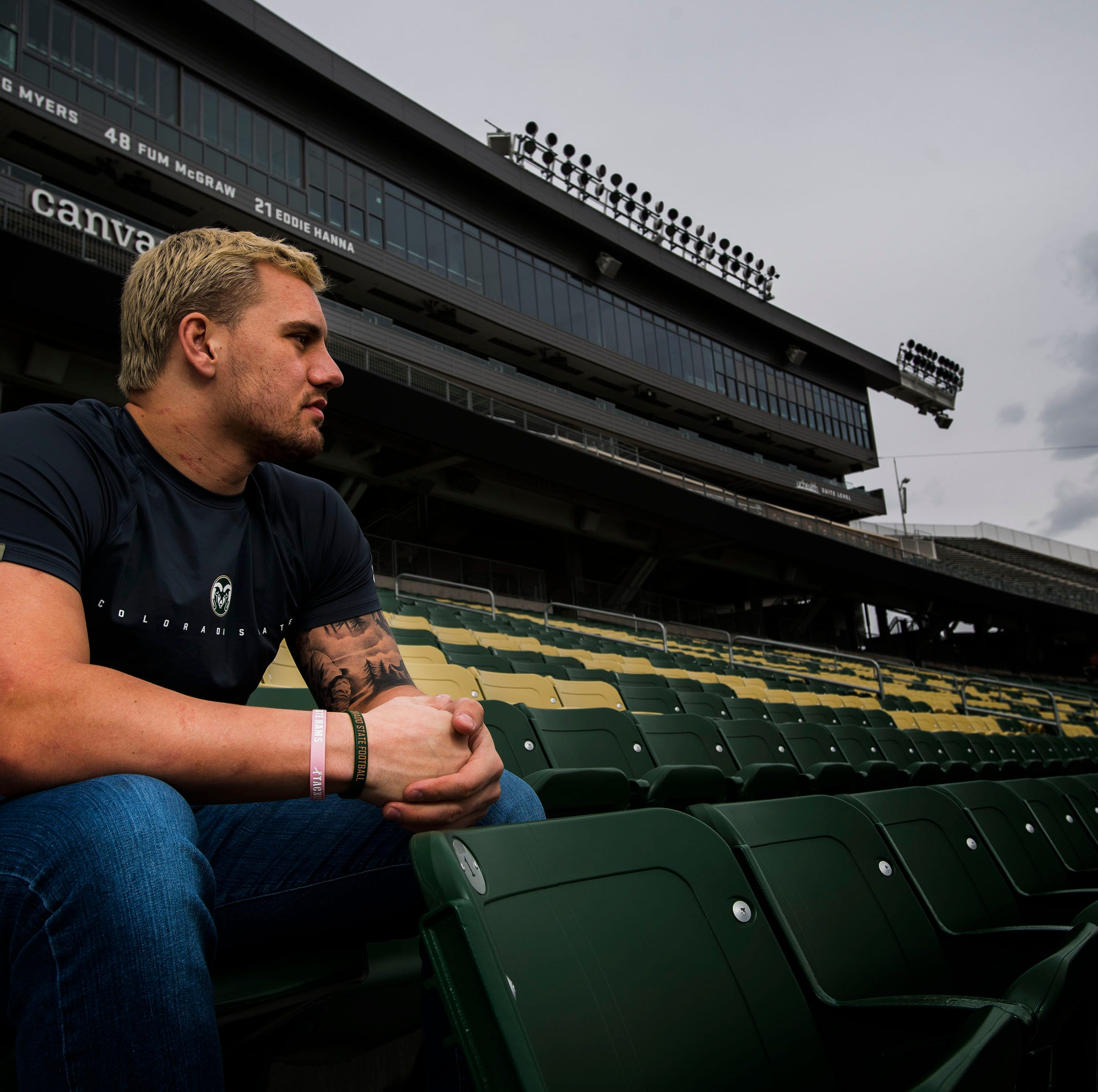 A different kind of strength: CSU linebacker Max McDonald shares his battle with anxiety