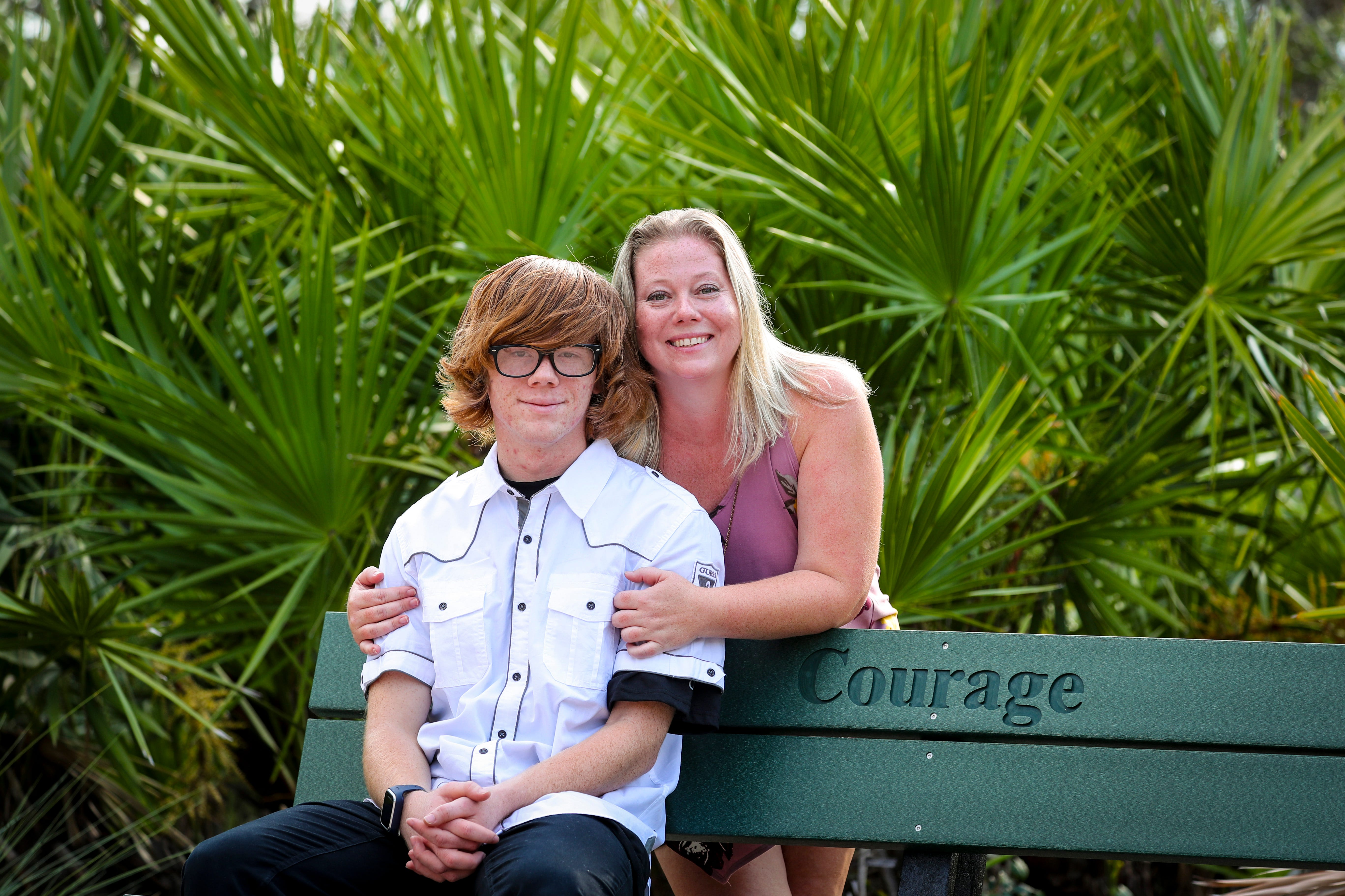 Caleb Caldwell, the 19-year-old from Naples, takes medications to treat symptoms of his bipolar disorder and Asperger's syndrome.  His mother, MellisaCaldwell, has fought to have his symptoms properly diagnosed so they can work through the medication and therapies needed for Caleb to thrive outside the home.