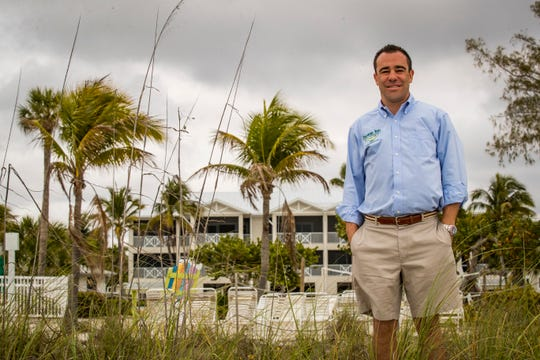 Island Inn general manager, Chris Davison, is cautiously optimistic about our area's water woes heading in the right direction, especially with a new governor and a changing of the guard at the South Florida Water Management District. He lost a lot of business last summer but is back to 100 percent occupancy during high season.