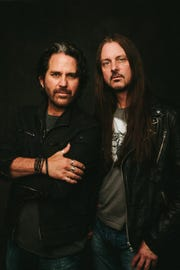 Kip Winger and Reb Beach, the lead songwriters for the rock band Winger, perform Thursday, March 21, at Barbara B. Mann Performing Arts Hall.