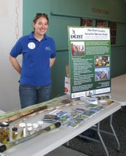 Kari Hagenow is leaving her position as coordinator for the Door County Invasive Species Team to devote her full-time focus to The Nature Conservancy.