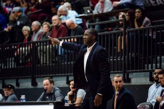 Former Hillcrest High and University of Louisville star Everick Sullivan is in his third season as men's basketball coach at Lenoir-Rhyne University.
