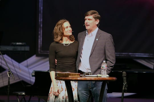 """Big Sky Celebration with Will Graham"" will be Graham's first time preaching with his wife"