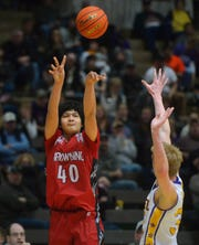 Tyree Whitcomb scored more than 1,000 points in his fine career at Browning High.