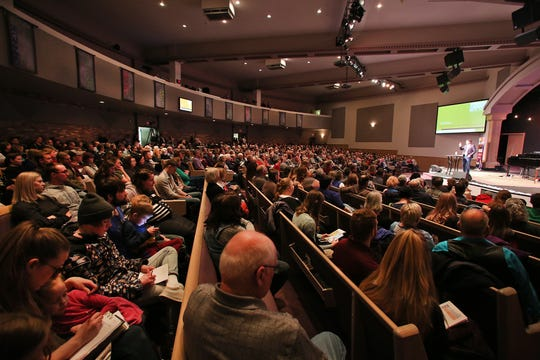 According to the Billy Graham Evangelistic Association, more than 640 people attended the Big Sky Celebration rally with Will Graham at Central Assembly of God in Great Falls on Thursday night.