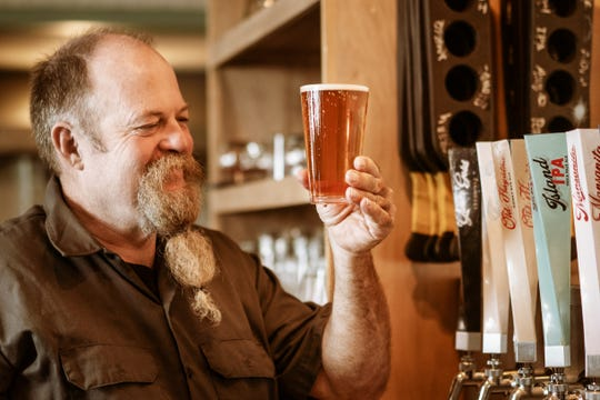 The Guam Brewery Tap House's award-winning head brewer, Mike Converse.