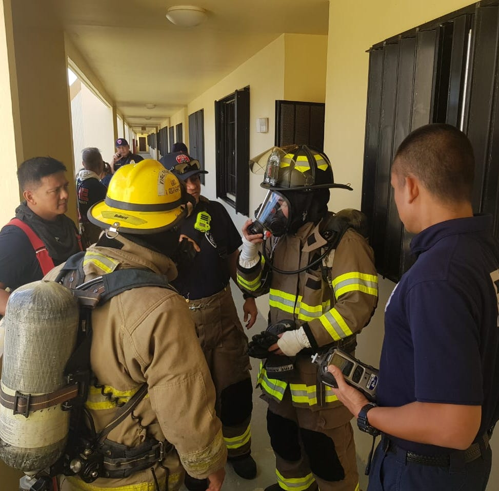 Chalan Pago apartments deemed safe after foul odor complaint