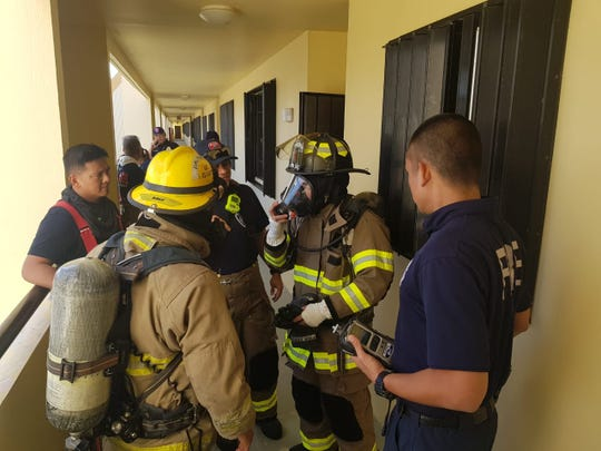 Guam Fire Department responded to foul odor at Apusento Gardens apartments. No toxic or flammable gases were found.