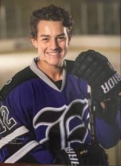 Henderson County High School junior Jack Hutto will play for the Evansville Thunder in the Indiana State High School Hockey Association state championship on Saturday in Dyer, Indiana.