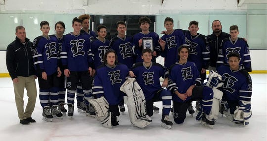 The Evansville Thunder will play in the Indiana State High School Hockey Assocation state championship on Saturday in Dyer, Indiana.