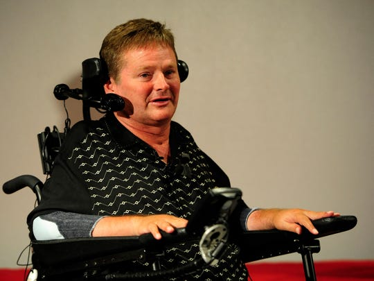 Sam Schmidt will serve as grand marshal for the 2019 IPL 500 Festival Parade.
