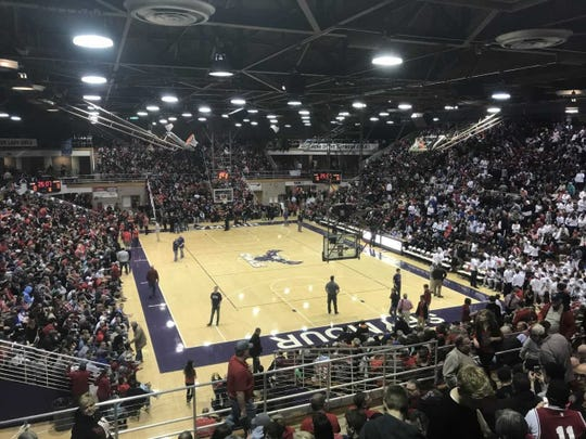 Seymour High's Lloyd E. Scott Gymnasium shown in 2018 is now listed as the largest gym in Indiana, according to the Indiana High School Basketball Historical Society.