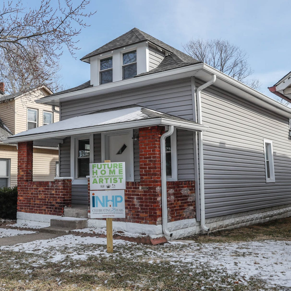 Indianapolis artists might qualify to buy a rehabbed home for only $49,000. Here's how.