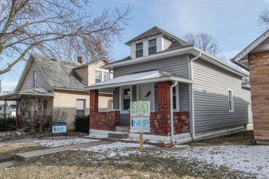 A newly remodeled home on Cruft Street is part of an affordable artist home ownership program.