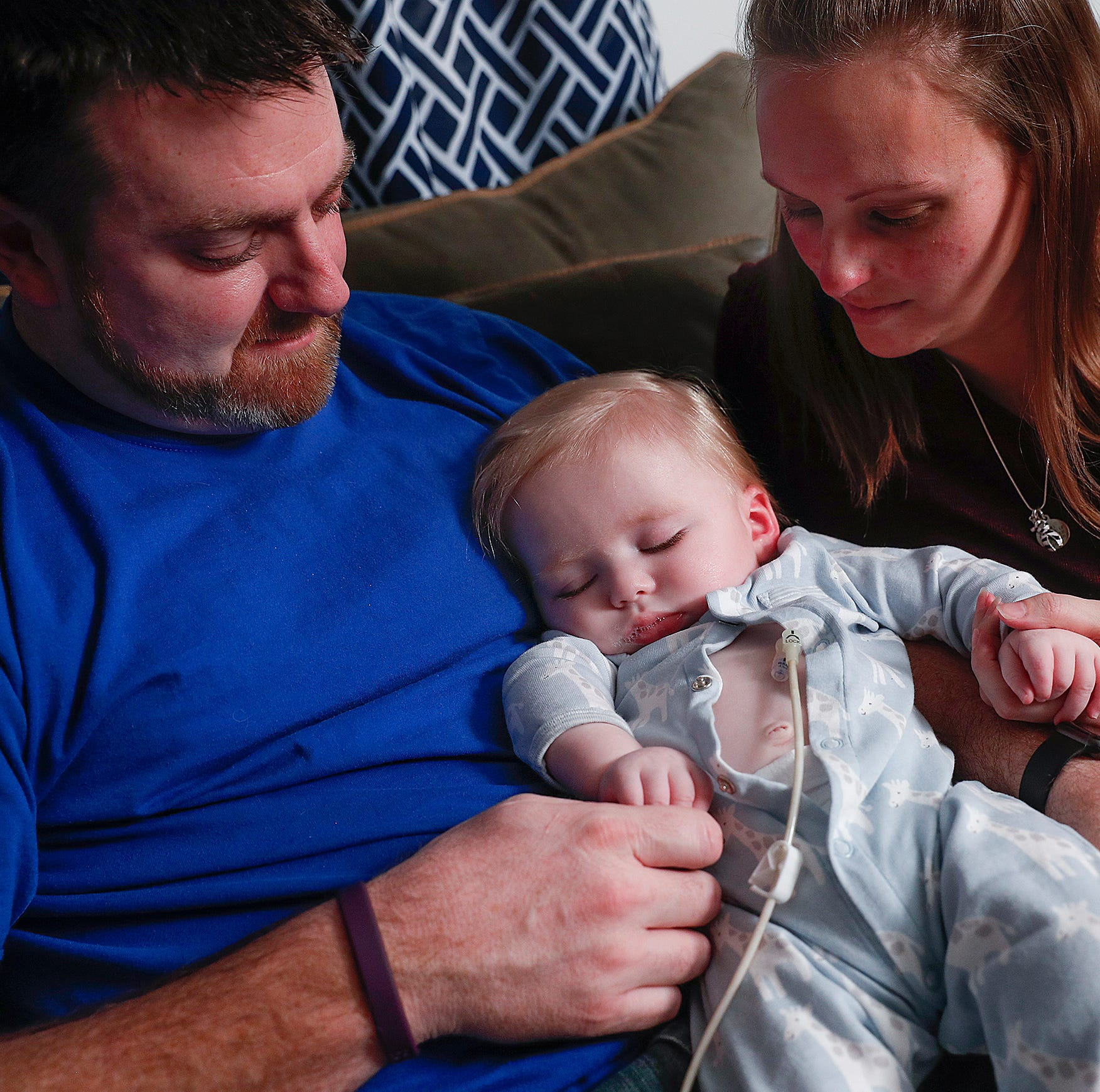 They can't save their child, but Bryce's parents want to help others in his condition