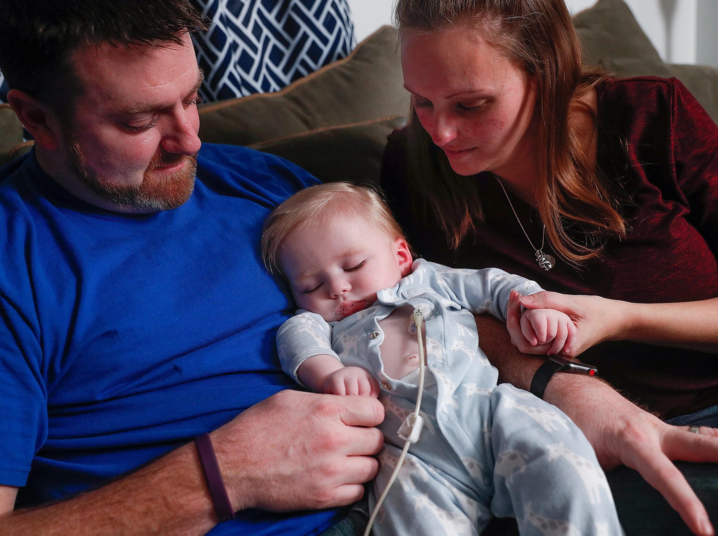 Parents Joel and Andrea Clausen talk about their fight for a new law to add Krabbe disease to the list of disorders on the state's newborn screening panel. Their son Bryce was diagnosed with Krabbe disease after they notice many changes in their toddler.