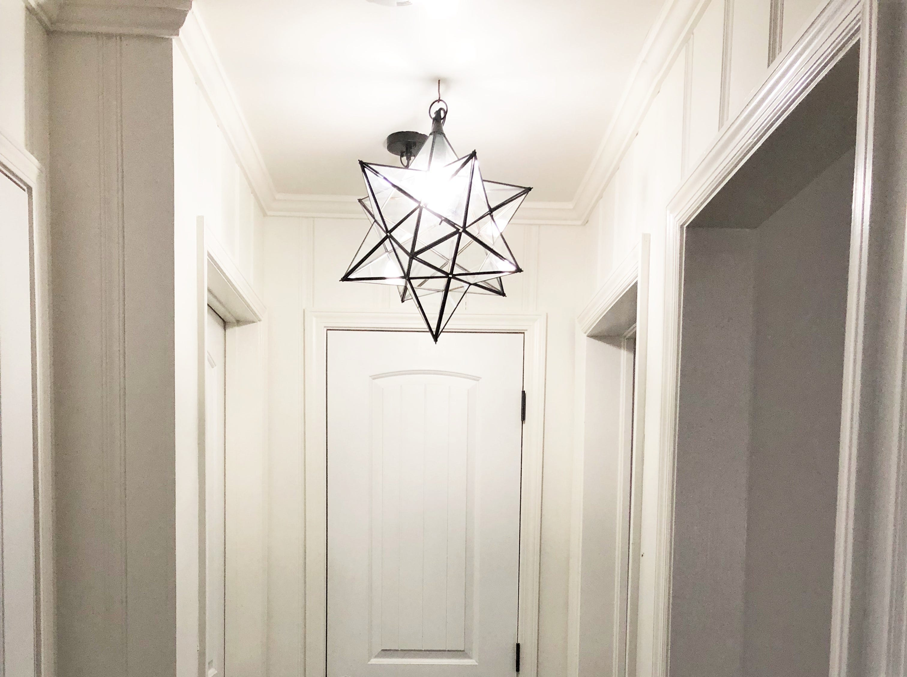 Update handles, cabinet hardware and lighting fixtures, but keep it consistent throughout the house, suggests real estate agent Katie Beeler Henson.