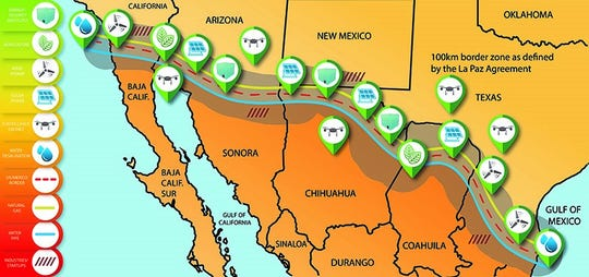Five Purdue faculty members worked with engineers from across the country to propose a first-of-its-kind energy park that spans the 1,954 miles of the border between the United States and Mexico.