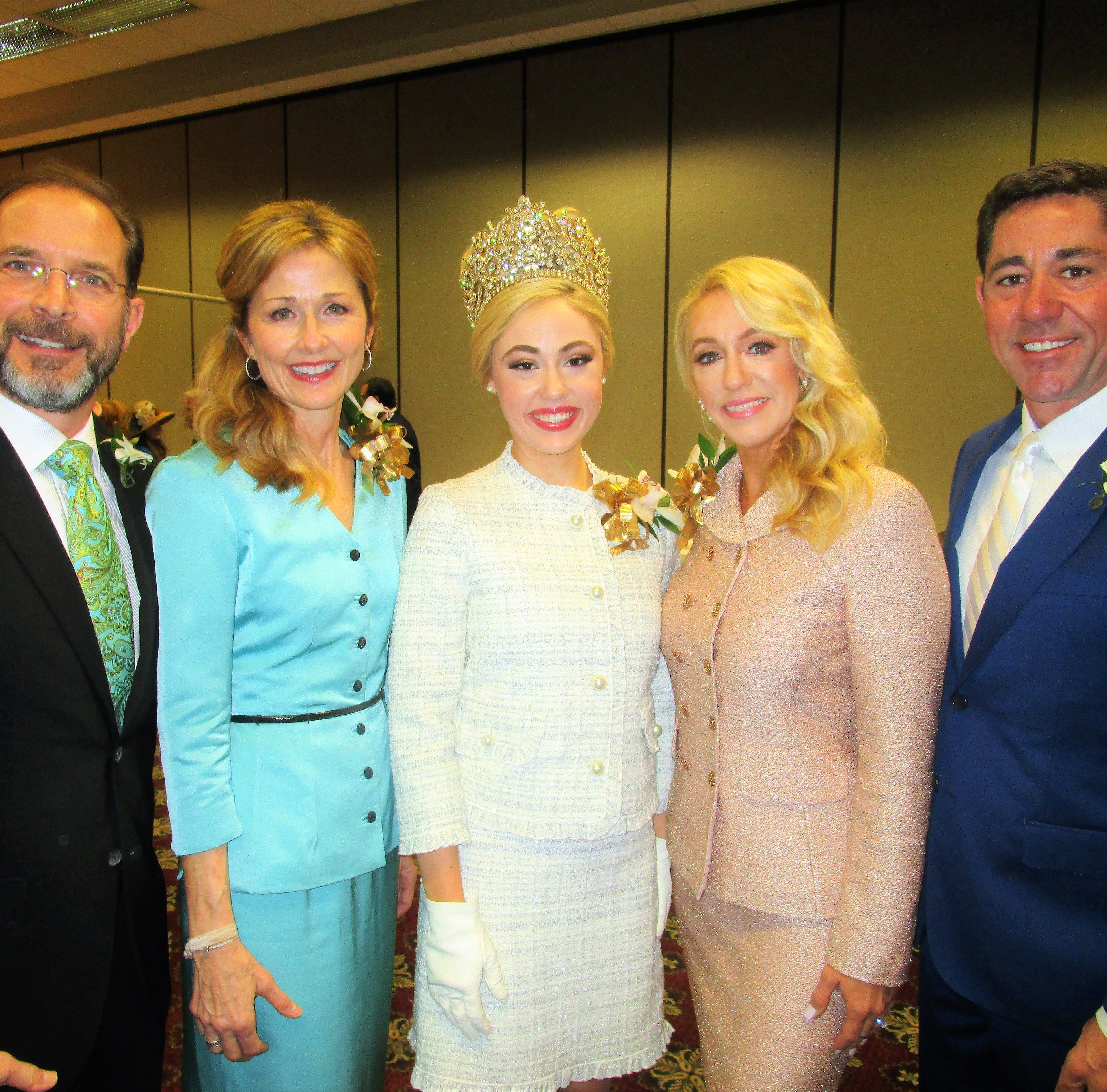 Gabriel King's luncheon celebrates the 80th monarch