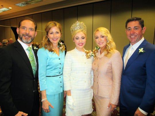 Dr. Thomas and Deidre Montgomery, Madeline Busch, Reneé and Bradley Busch