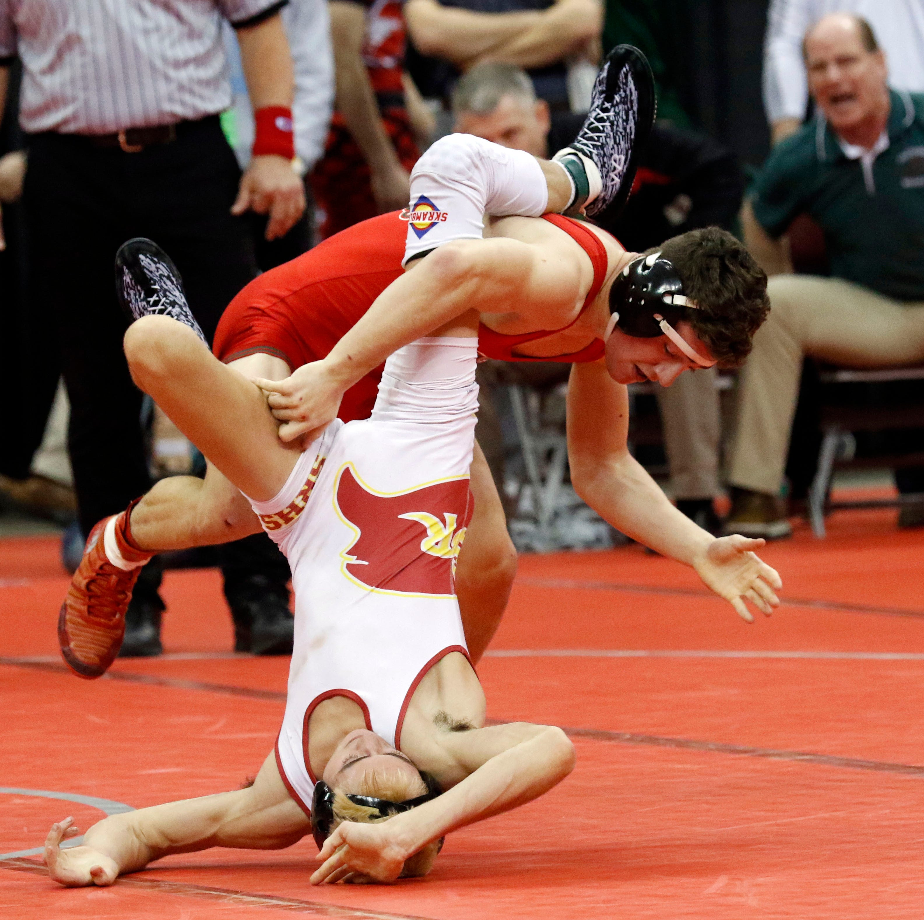 D'Emilio takes down top spot in Messenger wrestling lineup