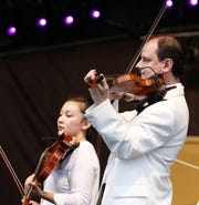 The Lancaster Festival Orchestra performed last year at the Ohio University Lancaster Wendel Concert Stage in Lancaster.