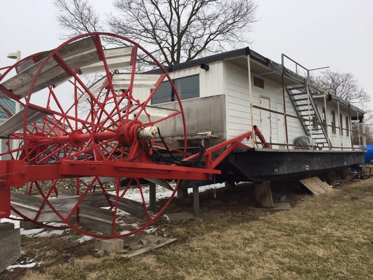 The Buckeye Lake Historical Society is renovating the Queen of the Lake III and plans to host social events on the lake with it.