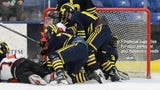 Highlights and interviews from Hartland's 6-2 hockey semifinal victory over Birmingham Brother Rice.