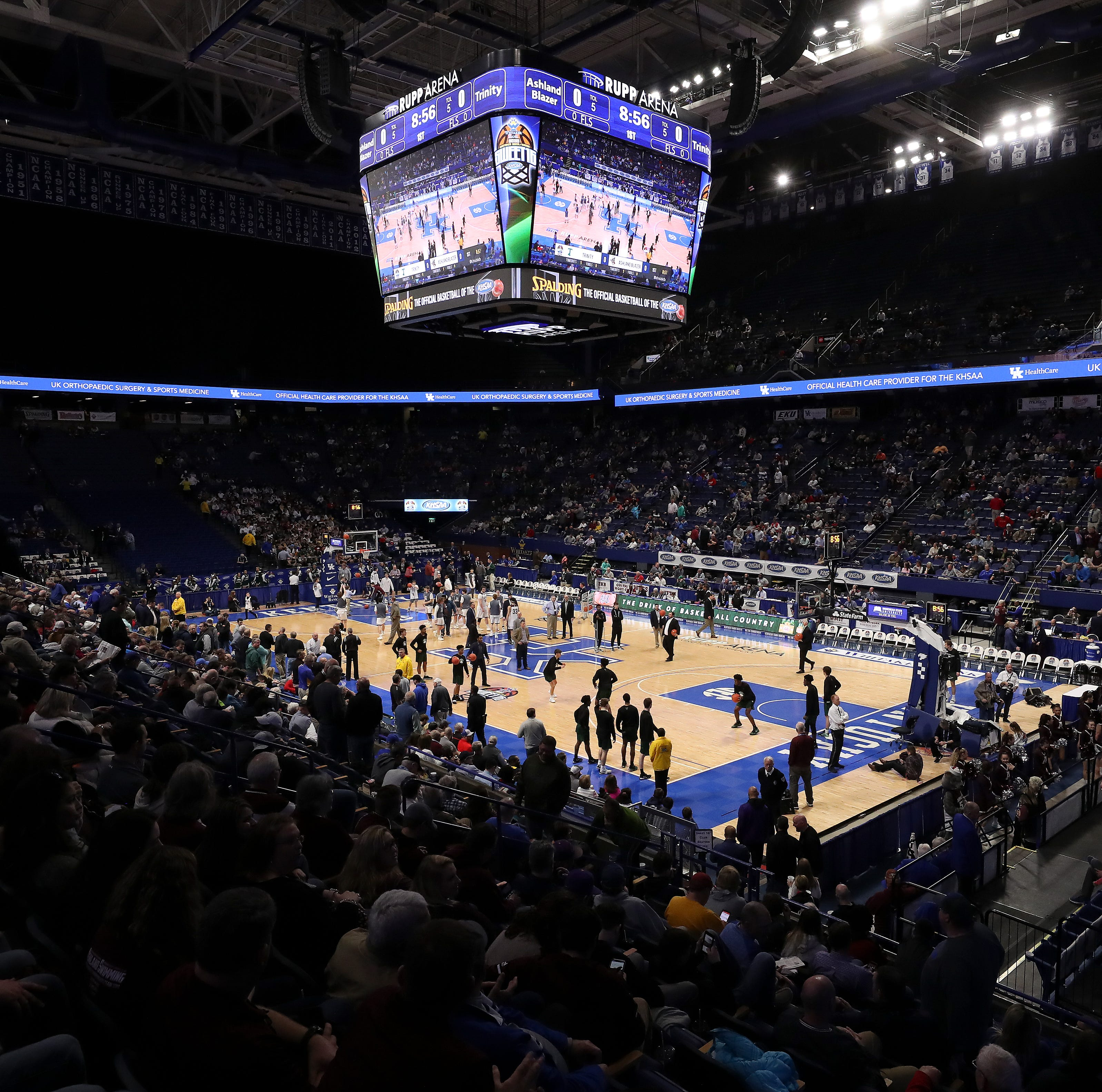 Girls Sweet 16 makes move to Rupp Arena; excitement, jitters to be expected