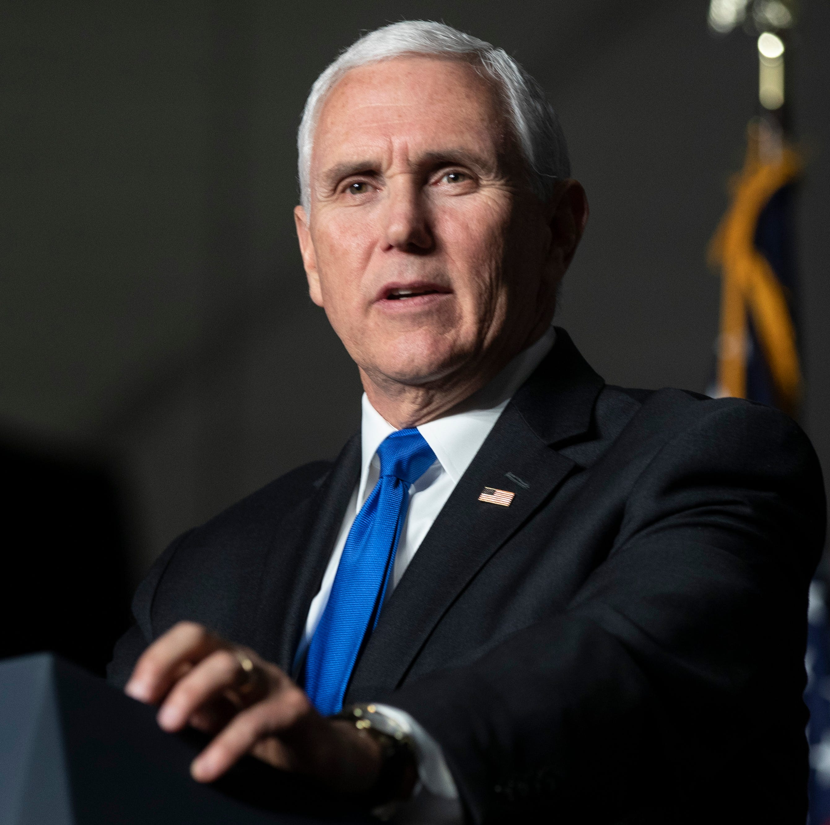 Mike Pence scheduled to arrive in Monterey today
