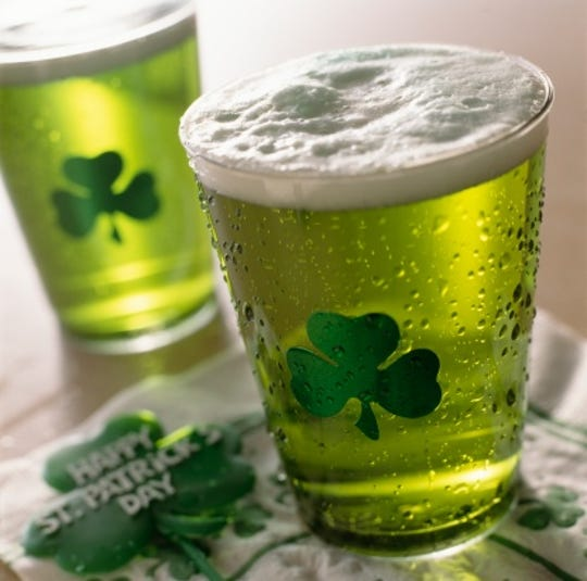 Plenty of green beer will be poured for St. Patrick's Day in Southwest Florida.