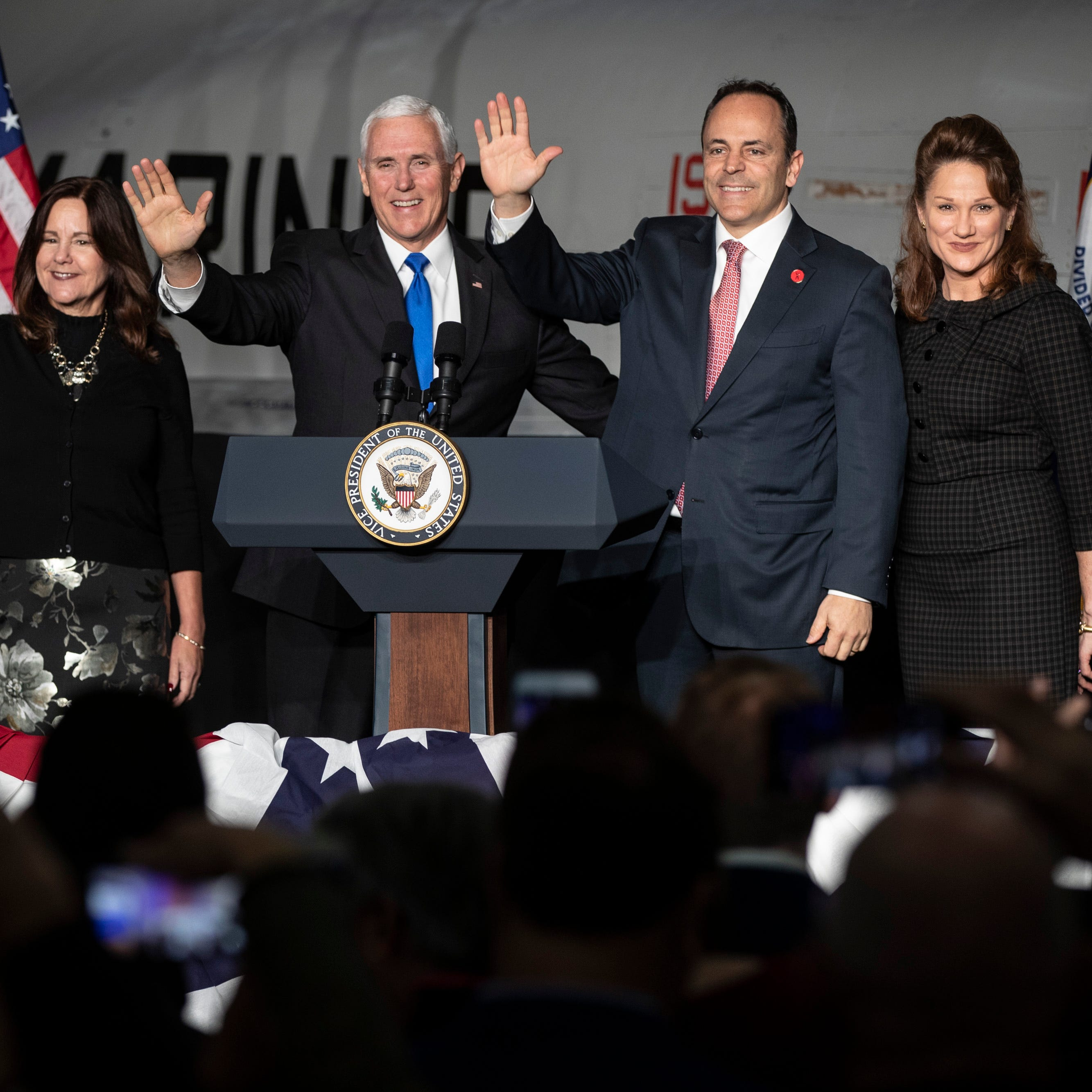 In Kentucky, Mike Pence says Matt Bevin has Trump's re-election endorsement