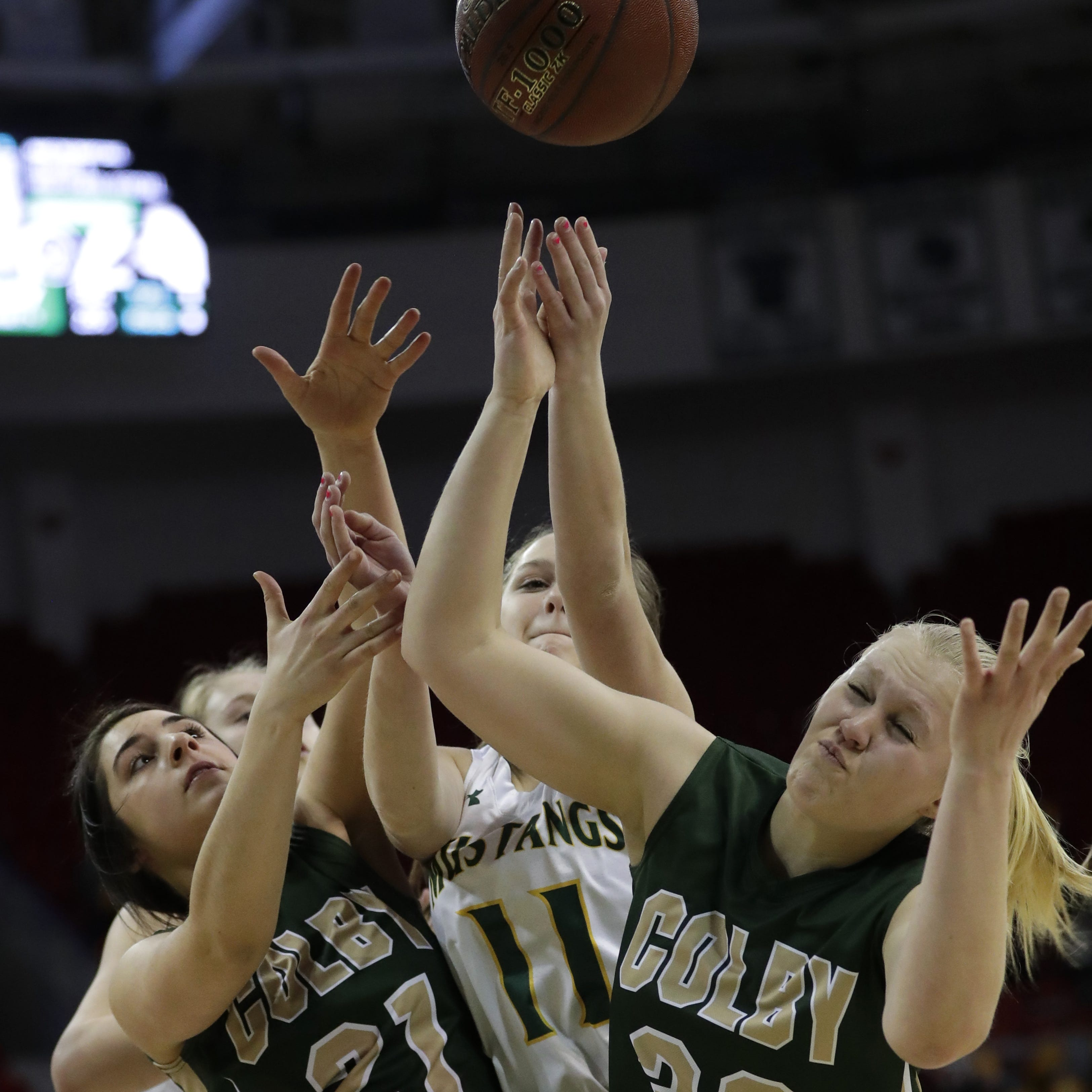Size advantage sends Melrose-Mindoro past Colby in WIAA D4 state girls semifinal