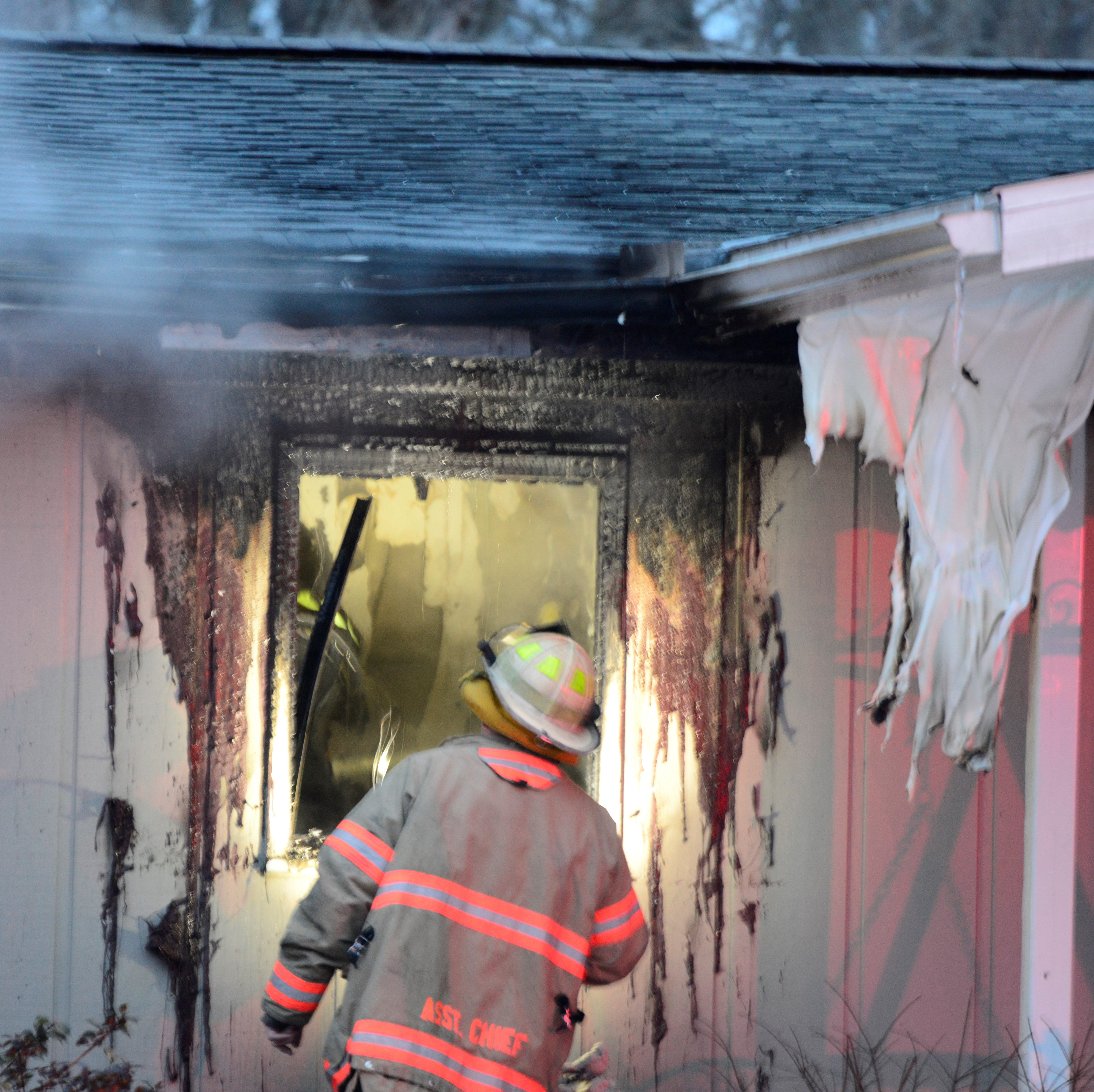 Fire damages Madison Township home Thursday