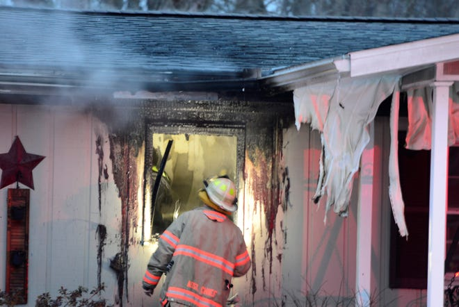 Madison Township firefighters responded to 1241 Poth Road for a report of a structure fire on Thursday, March 7, 2019.