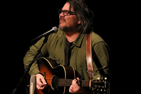 Jeff Tweedy on stage at the Germantown Performing Arts Center on Thursday, March 7, 2019.