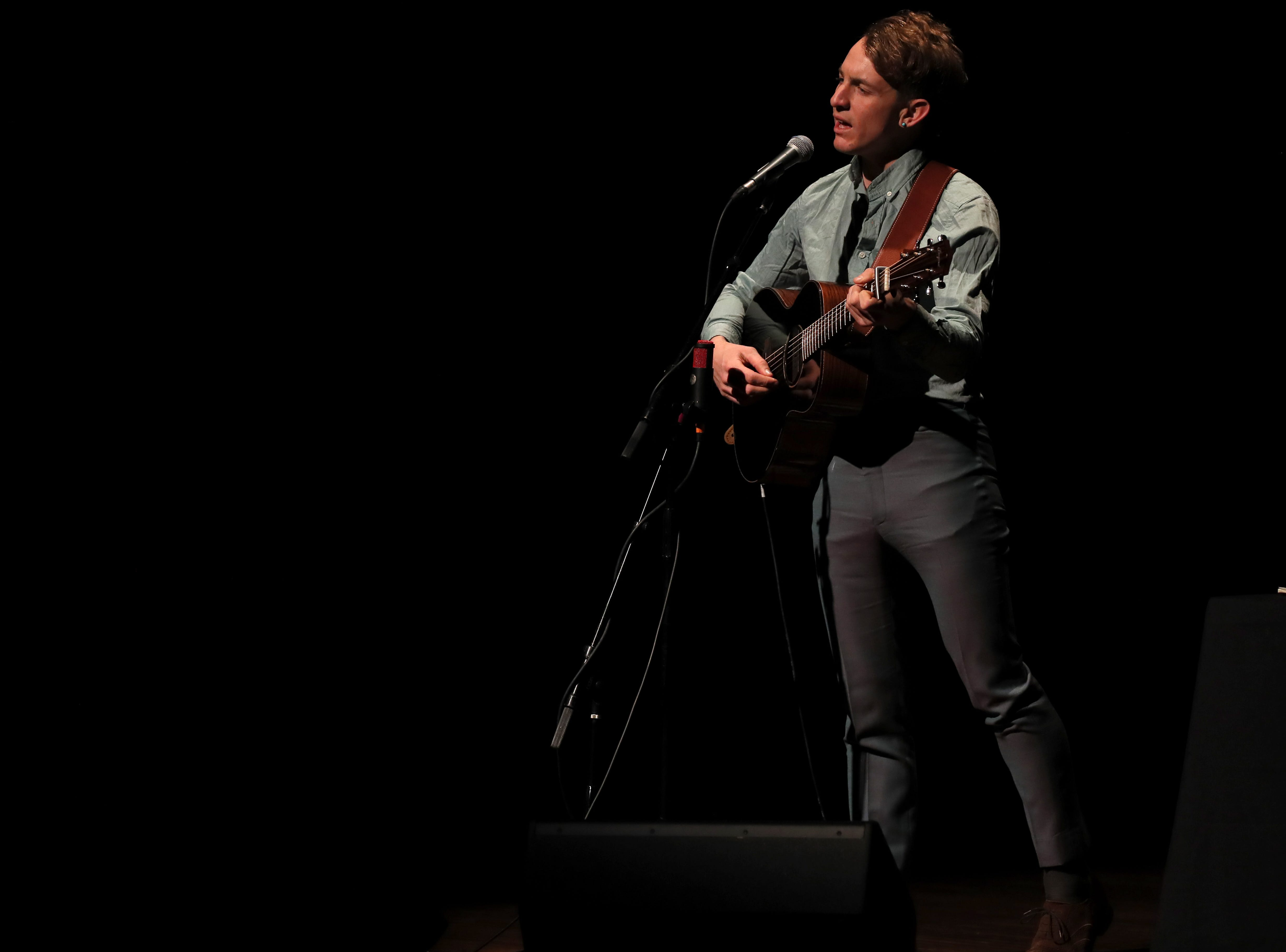 Buck Meek opens for Jeff Tweedy at the Germantown Performing Arts Center on Thursday, March 7, 2019.