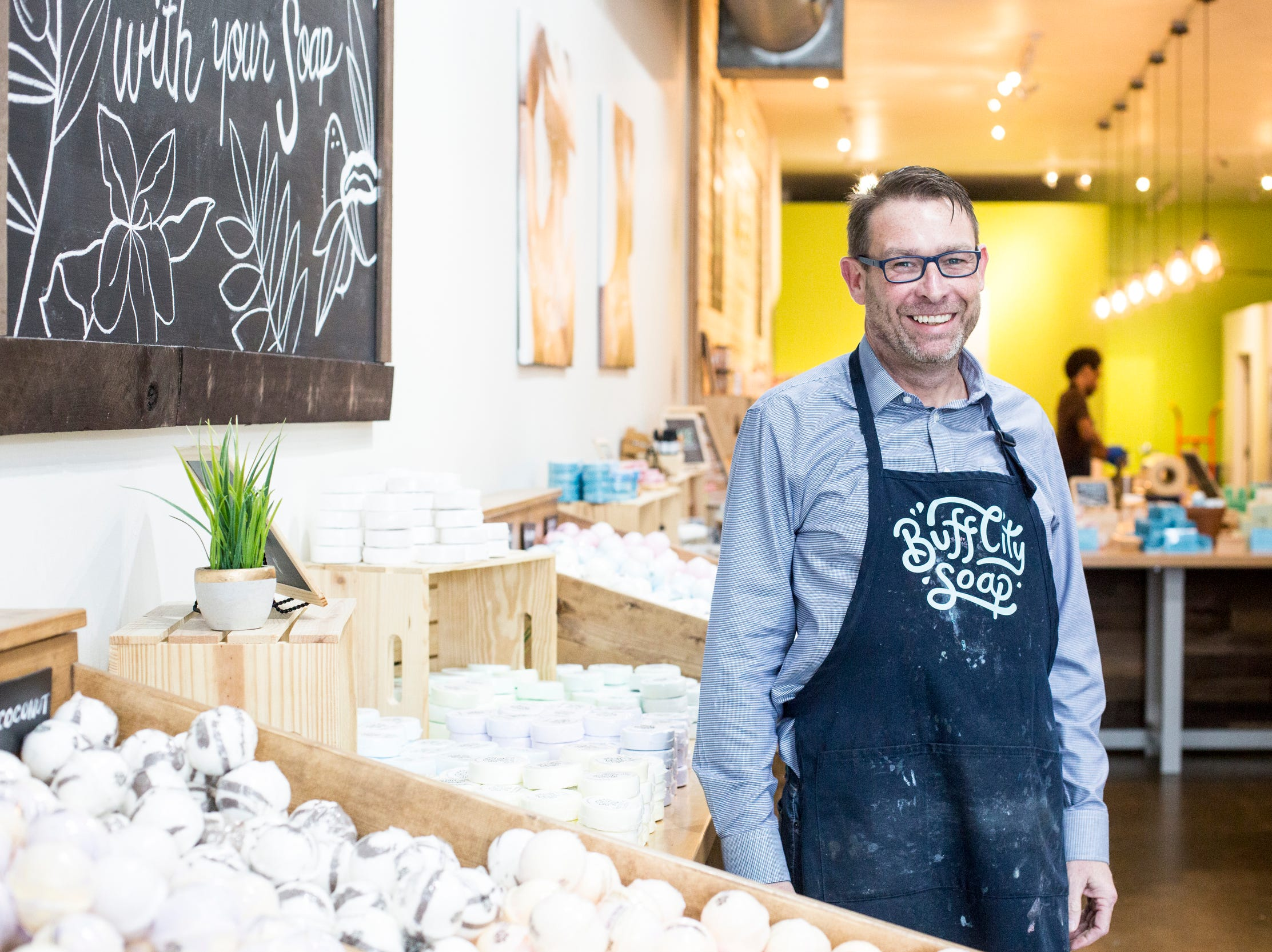 Buff City Soap plans to become 'the Starbucks of soap'