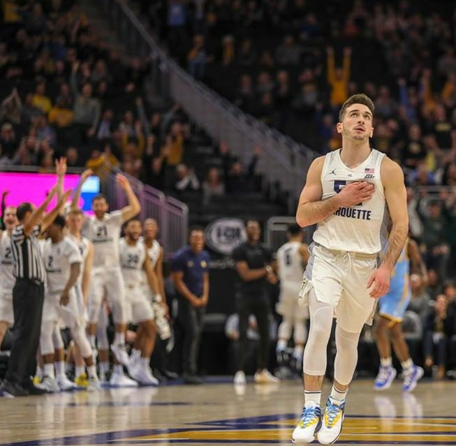 Senior walk-on Cam Marotta carries on family tradition at Marquette