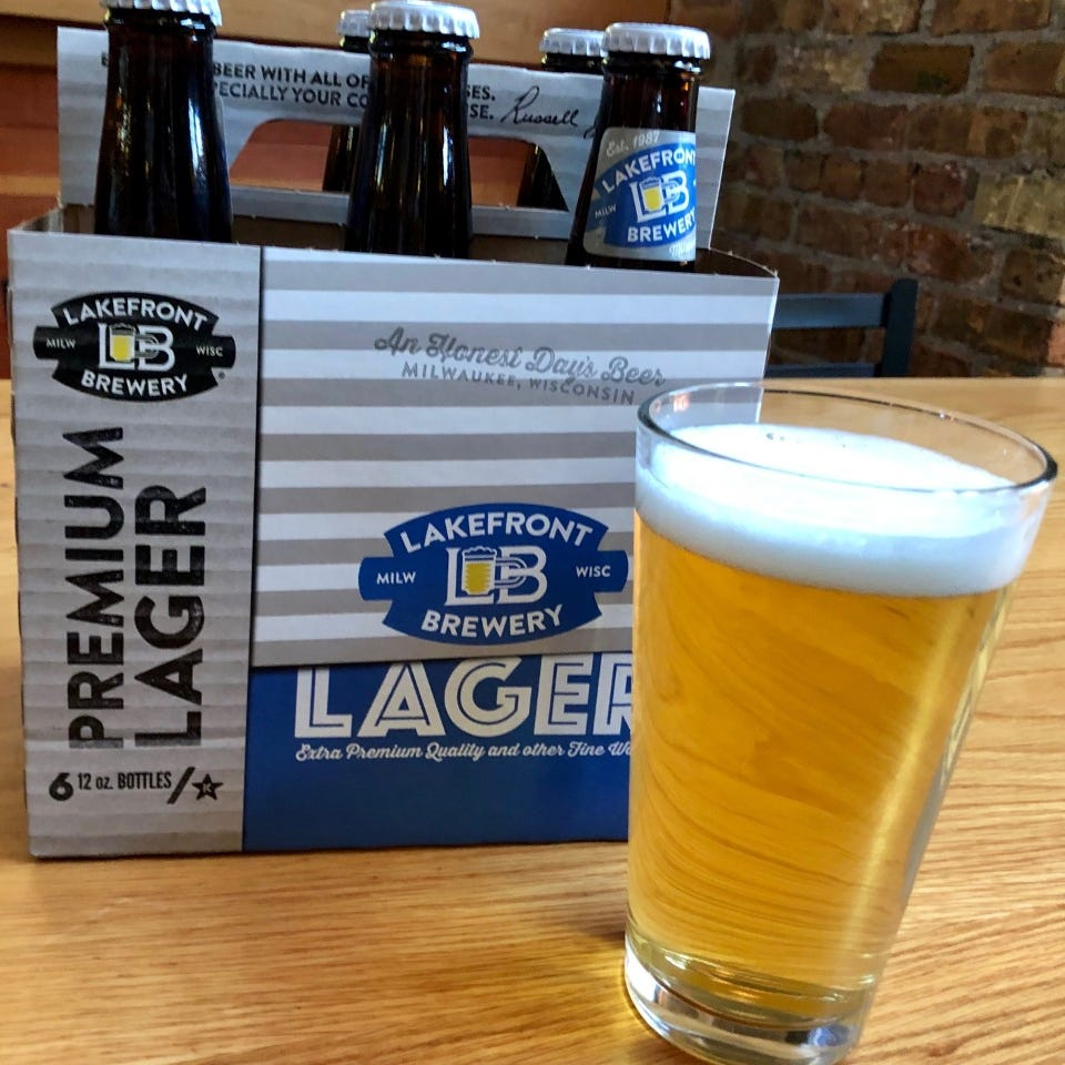 Lakefront Premium Lager is a modern update of the beer style that made Milwaukee famous