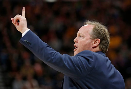 Head coach Mike Budenholzer and the Milwaukee Bucks are 20-6 against teams in the Eastern Conference playoff hunt.