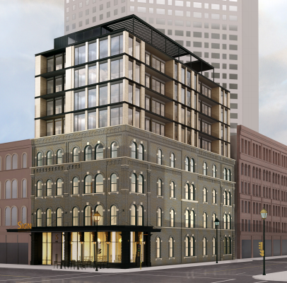 Boutique hotel proposed in downtown Milwaukee by the operator of Kinn Guesthouse in Bay View