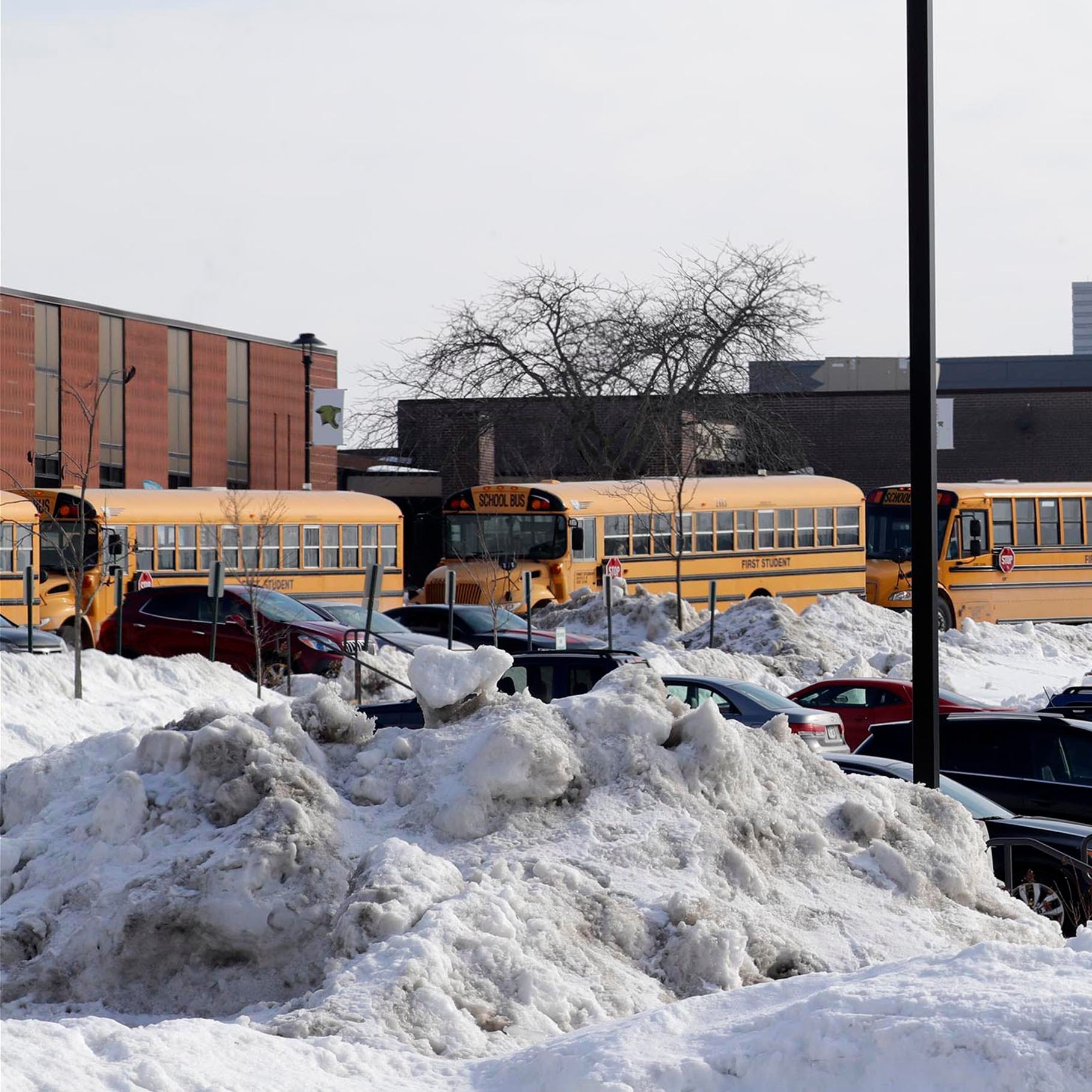 A shortage of school bus drivers has schools and bus companies scrambling to fill routes In Milwaukee area and Wisconsin