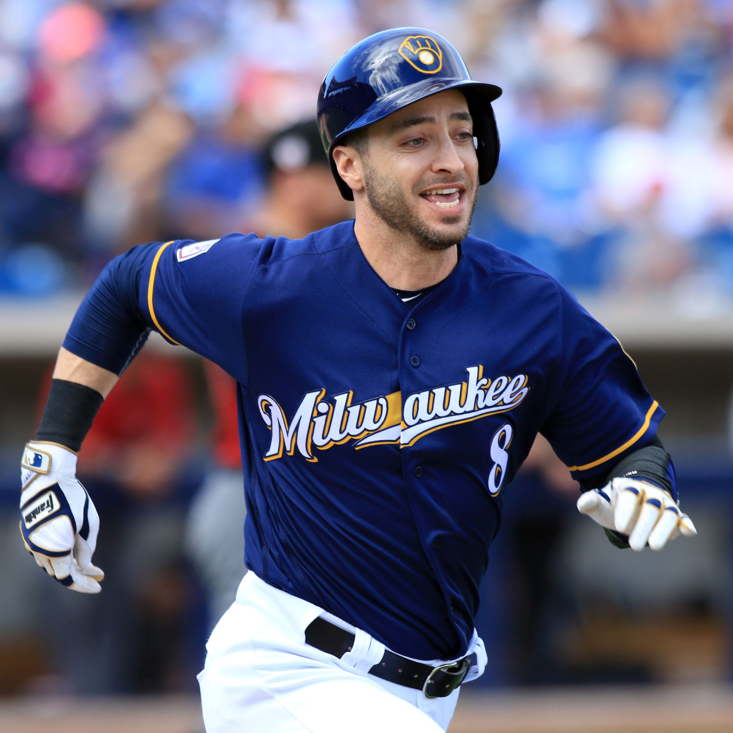 Ryan Braun is excited to see the Brewers' pursuit of the top talent, including Craig Kimbrel