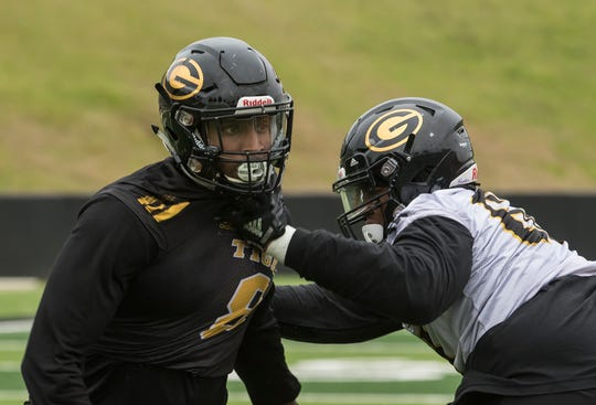 Grambling State University held it's first Spring football practice at Eddie Robinson Stadium in Grambling, La. on March 7.