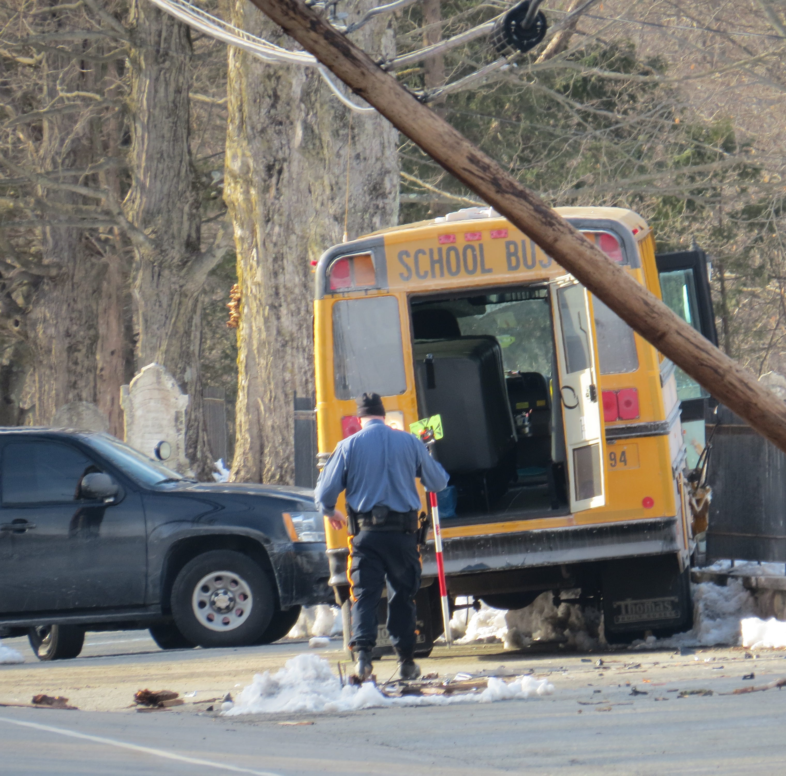 Six students injured; driver in critical condition after Boonton Township school bus crash