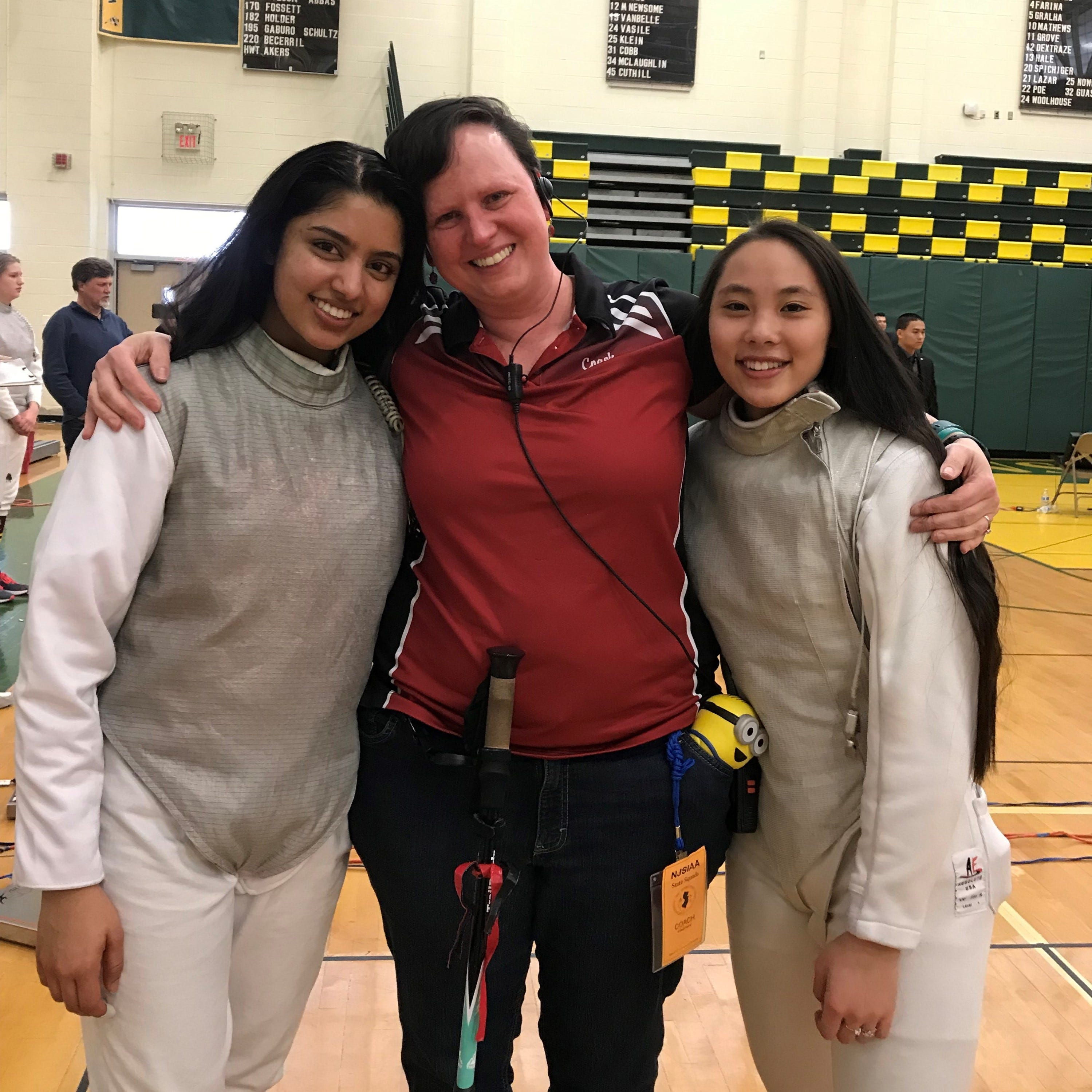 Morris Hills fencing coach recognized by National Federation of State High School Associations