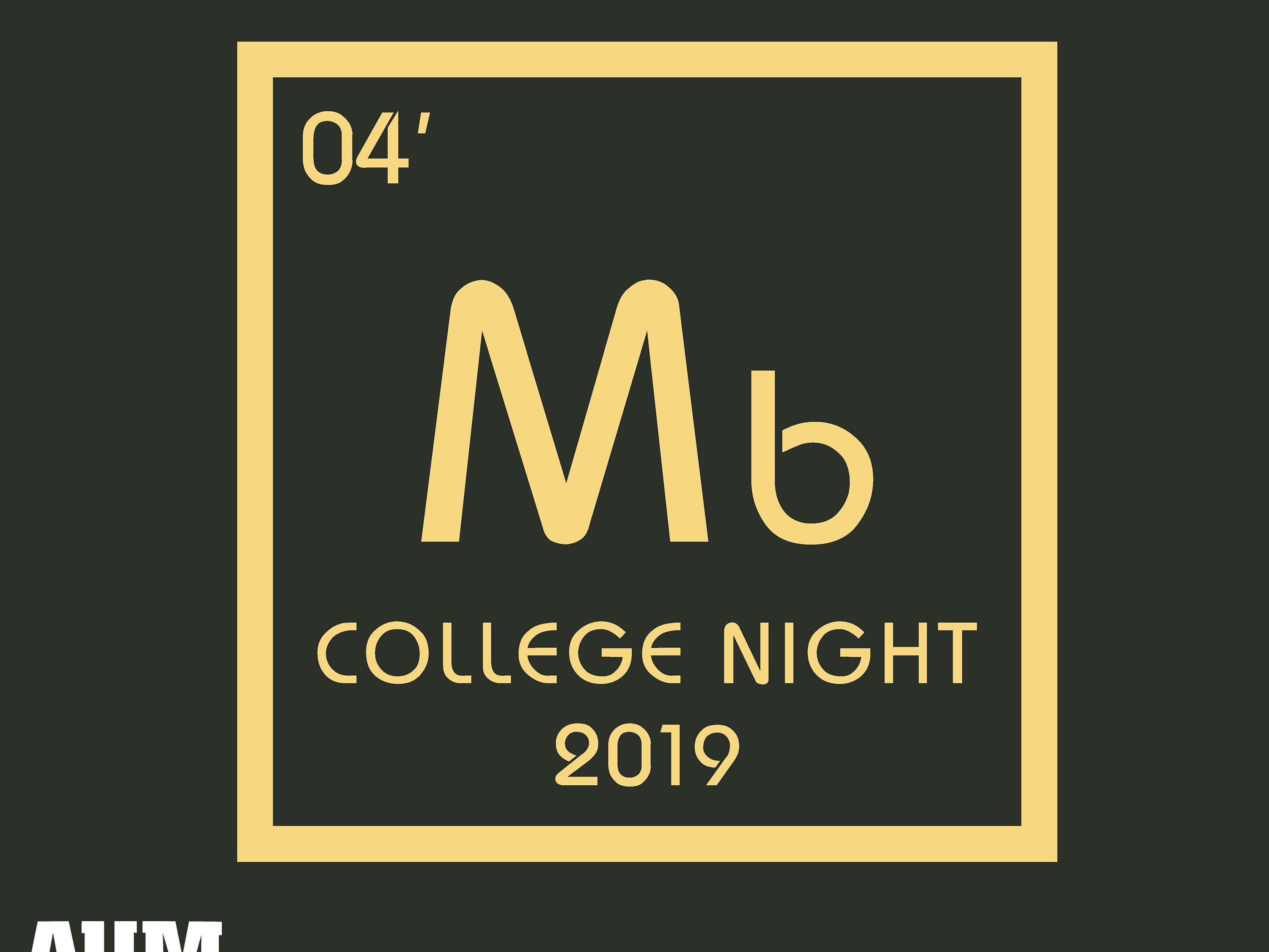 Montgomery Biscuits free t-shirt giveaway design for College Night on Thursday, Aug. 29, 2019.