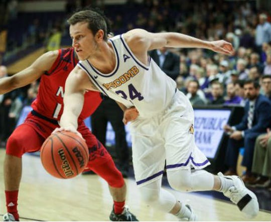 Garrison Mathews scored 22 points in Lipscomb's win over NJIT in the semifinals of the Atlantic Sun tournament Thursday at Allen Arena.